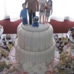 Noivinhos no bolo
