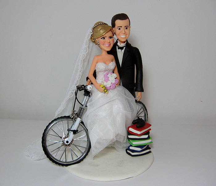Chef Wedding Cake Toppers