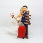 noivos viajantes